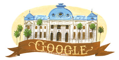 200º aniversario de la Biblioteca Nacional de Chile - 200th Anniversary of Chile's National Library: Chile
